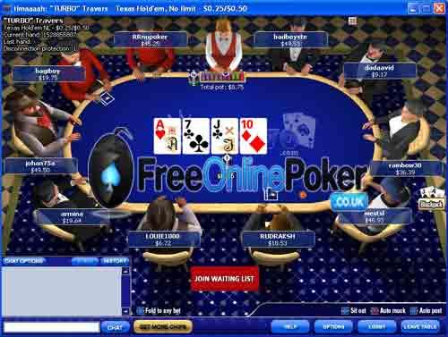 Poker 770 table